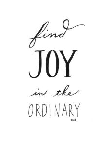 joyintheordinary