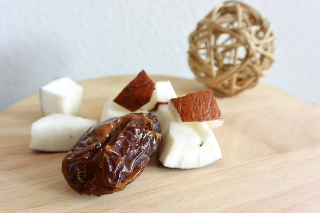 dates and coconut